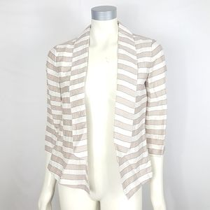 Ann Taylor Loft Open Front Blazer Jacket NWT